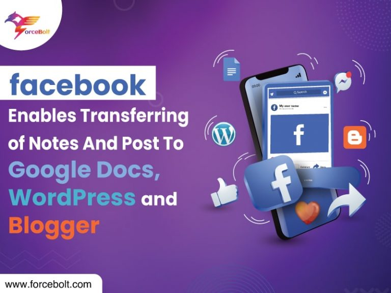 Facebook Enables Transferring of Notes And Post To Google Docs, WordPress, and Blogger